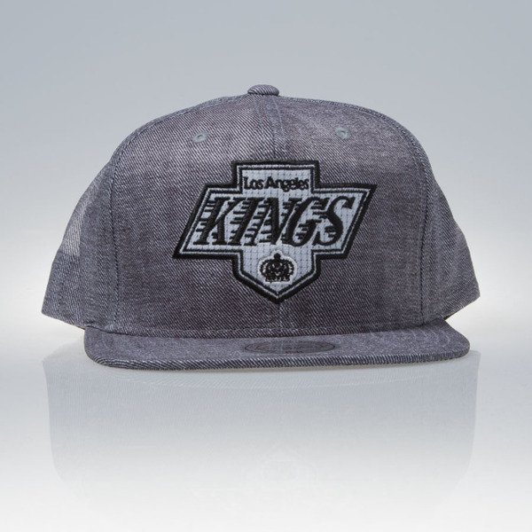 Mitchell & Ness czapka snapback Los Angeles Kings grey HYDRO EU843