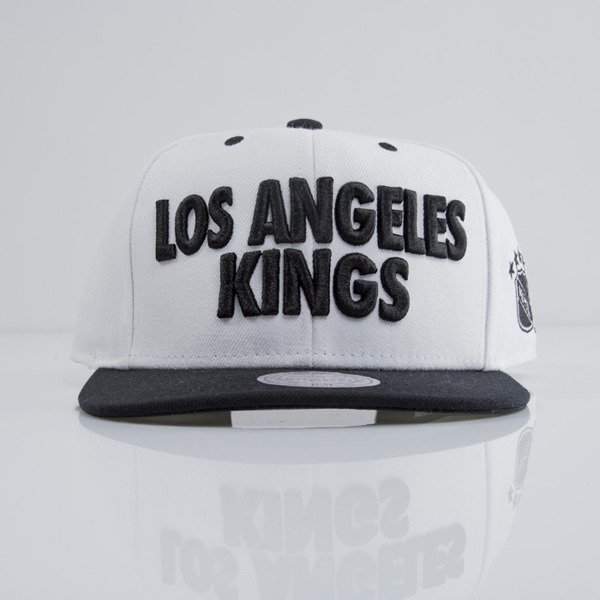 Mitchell & Ness czapka snapback Los Angeles Kings white EU398 FORCES