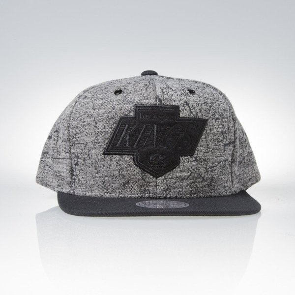 Mitchell & Ness czapka snapback Los Angeles Kings white / black Grounded EU880
