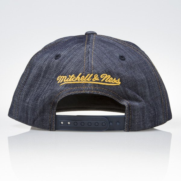 Mitchell & Ness czapka snapback Los Angeles Lakers DARK DENIM VW46Z