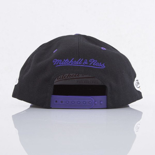 Mitchell & Ness czapka snapback Los Angeles Lakers black Championship VJ83Z