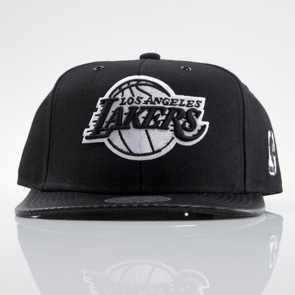 Mitchell & Ness czapka snapback Los Angeles Lakers black EU501 SPEEDWAY