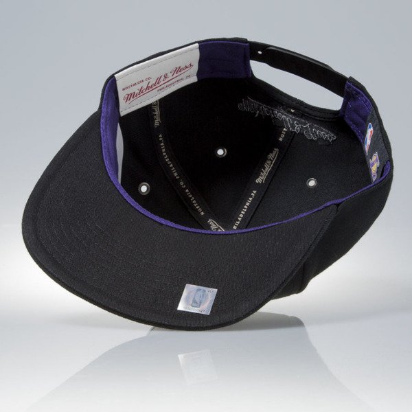Mitchell & Ness czapka snapback Los Angeles Lakers black FILTER EU837