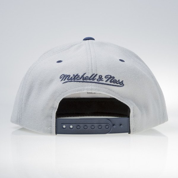 Mitchell & Ness czapka snapback Los Angeles Lakers grey / white ENGINEER STRIPE VW48Z