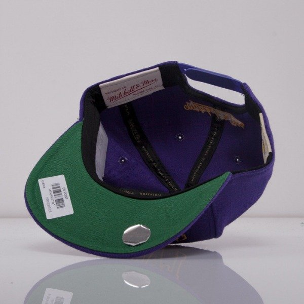 Mitchell & Ness czapka snapback Los Angeles Lakers purple On Point EU240