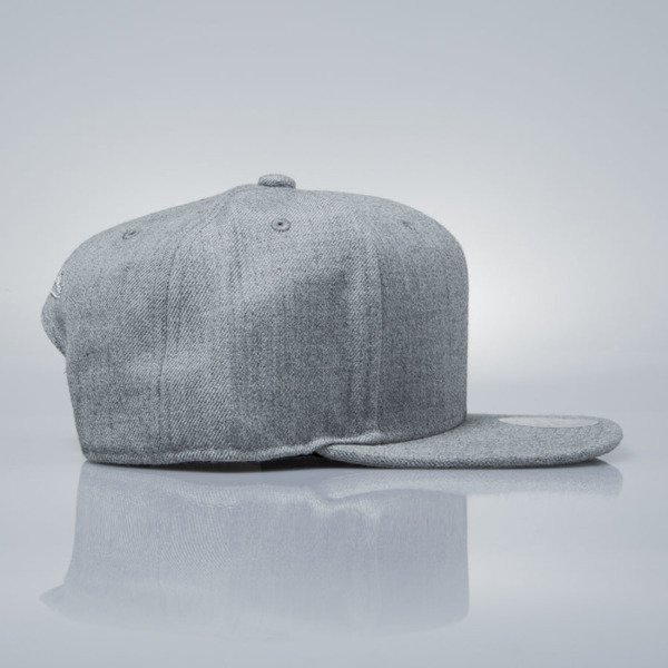 Mitchell & Ness czapka snapback M&N grey heather EU930 SOLID COLOUR BLANK