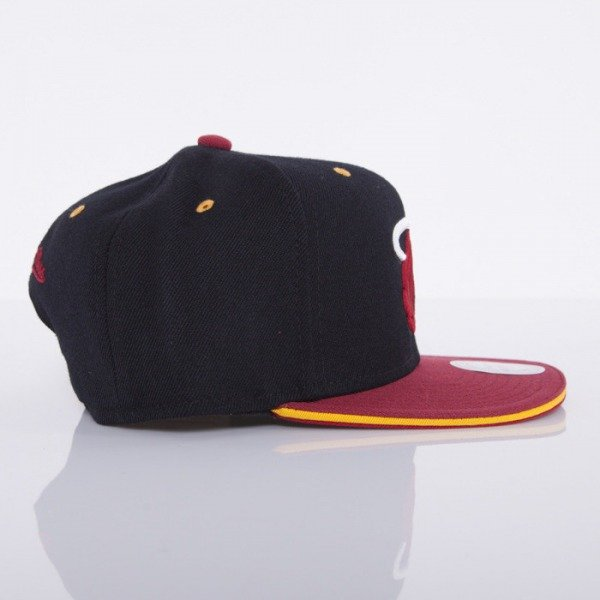 Mitchell & Ness czapka snapback Miami Heat black Tip Off