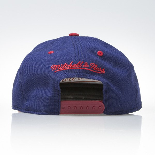 Mitchell & Ness czapka snapback Montreal Canadiens navy TEAM ARCH ND12Z