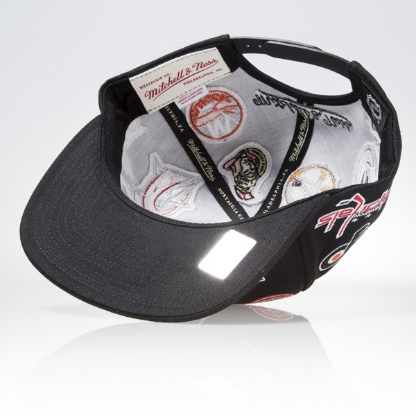 Mitchell & Ness czapka snapback NHL Eastern black ALL OVER EU879
