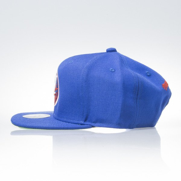 Mitchell & Ness czapka snapback New York Islanders blue WOOL SOLID NZ980