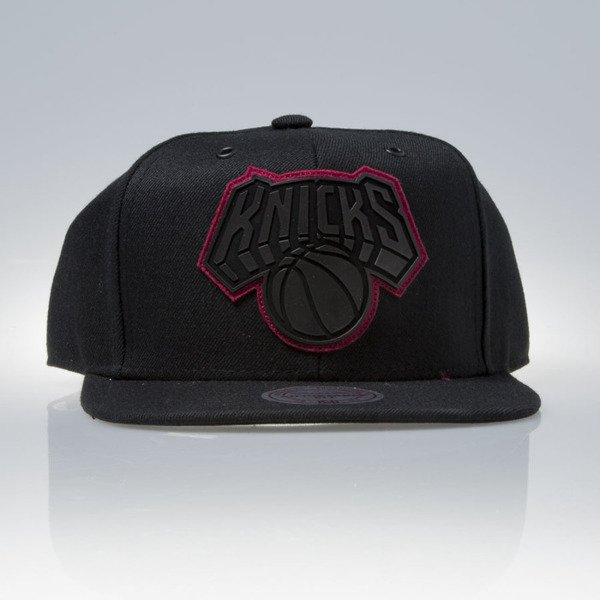 Mitchell & Ness czapka snapback New York Knicks black FILTER EU837