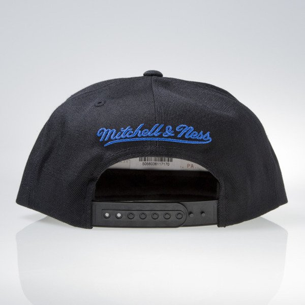 Mitchell & Ness czapka snapback New York Knicks black GOTHAM CITY VW49Z