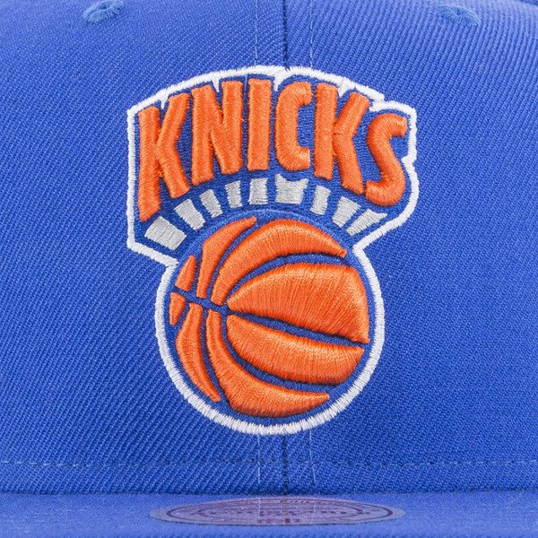 Mitchell & Ness czapka snapback New York Knicks blue SOLID CROWN NZ979