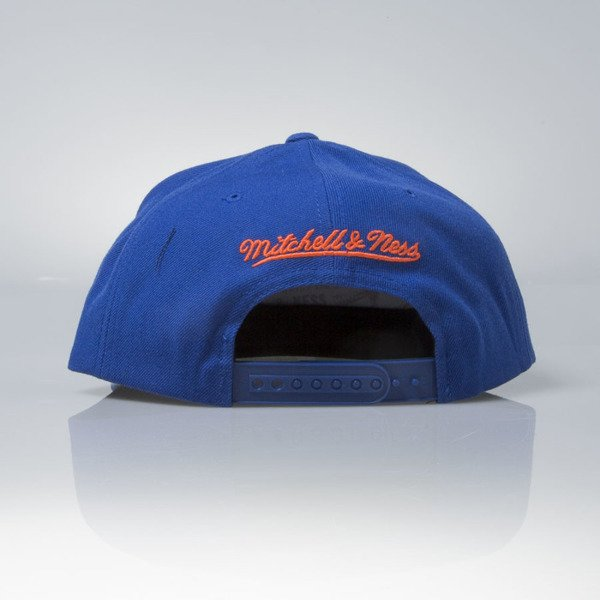 Mitchell & Ness czapka snapback New York Knicks blue Wool Solid / Solid 2 NL99Z