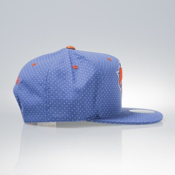 Mitchell & Ness czapka snapback New York Knicks royal DOTTED COTTON VQ94Z