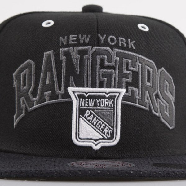 Mitchell & Ness czapka snapback New York Rangers black Marked EU693