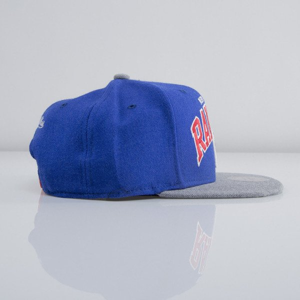 Mitchell & Ness czapka snapback New York Rangers blue Forward Line EU435