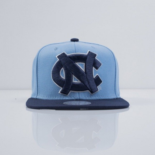 Mitchell & Ness czapka snapback North Carolina light blue XL Logo 2Tone NJ49Z
