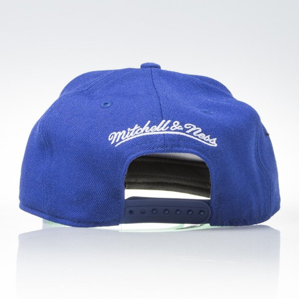 Mitchell & Ness czapka snapback Tampa Bay Lightning blue WOOL SOLID NZ980