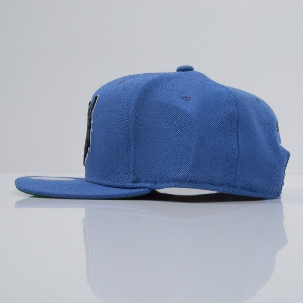 Mitchell & Ness czapka snapback Timberwolves blue WOOL SOLID NZ979