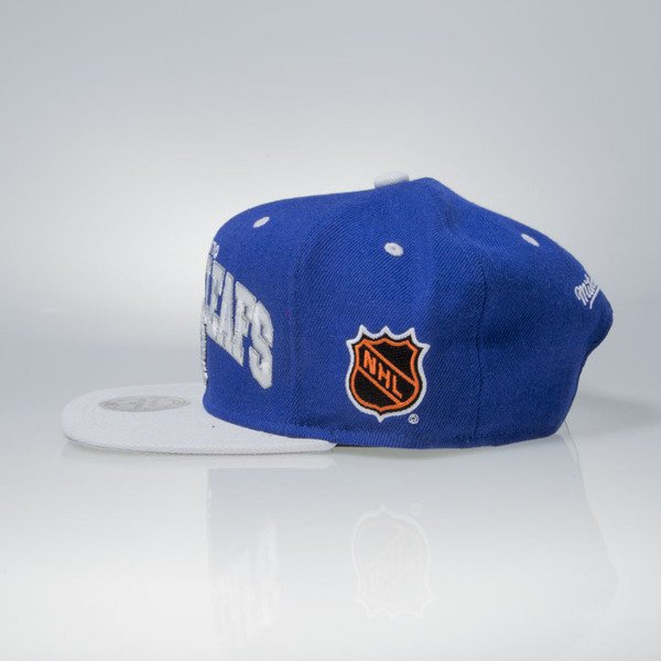 Mitchell & Ness czapka snapback Toronto Maple Leafs blue TEAM ARCH ND12Z