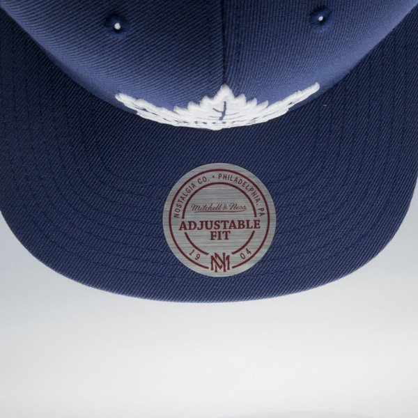 Mitchell & Ness czapka snapback Toronto Maple Leafs blue Wool Solid / Solid 2 NT81Z