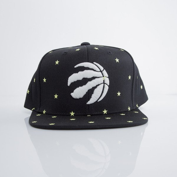 Mitchell & Ness czapka snapback Toronto Raptors black GITD Starry Night VU42Z