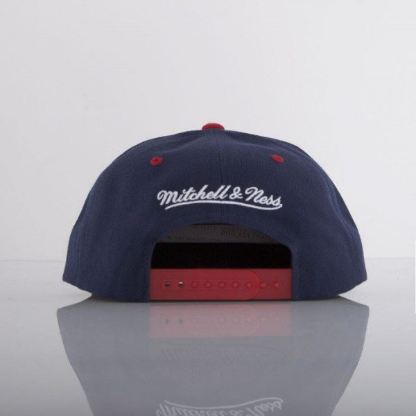 Mitchell & Ness czapka snapback Washington Wizards navy Stop On A Dime NZ55Z