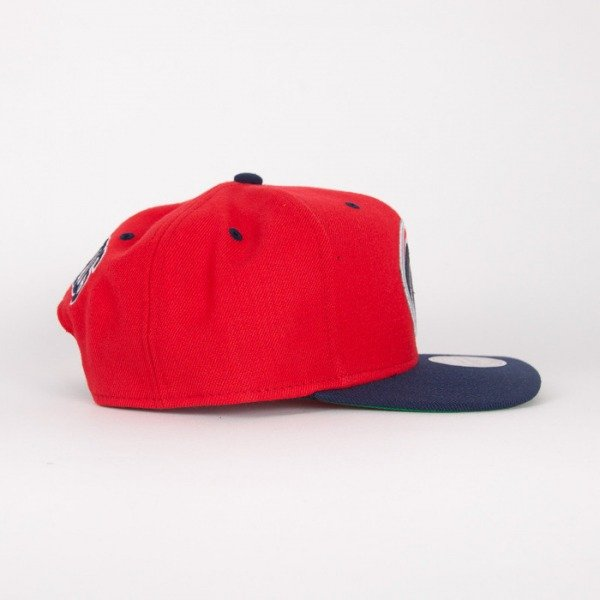 Mitchell & Ness czapka  snapback  Washington Wizards red / navy Flipside
