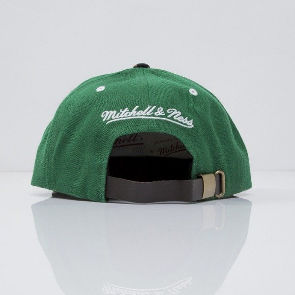 Mitchell & Ness czapka strapback Boston Celtics green The Archives VE38Z