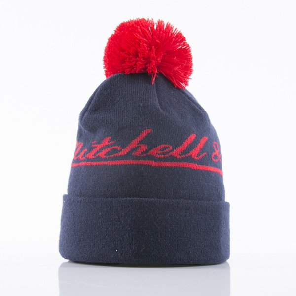 Mitchell & Ness czapka zimowa M&N Script navy Tight Cuffed KB74Z
