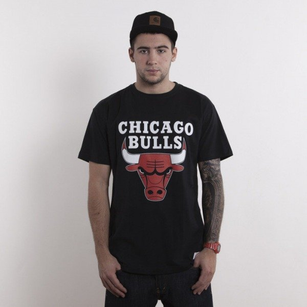 Mitchell & Ness koszulka Chicago Bulls black Team Logo