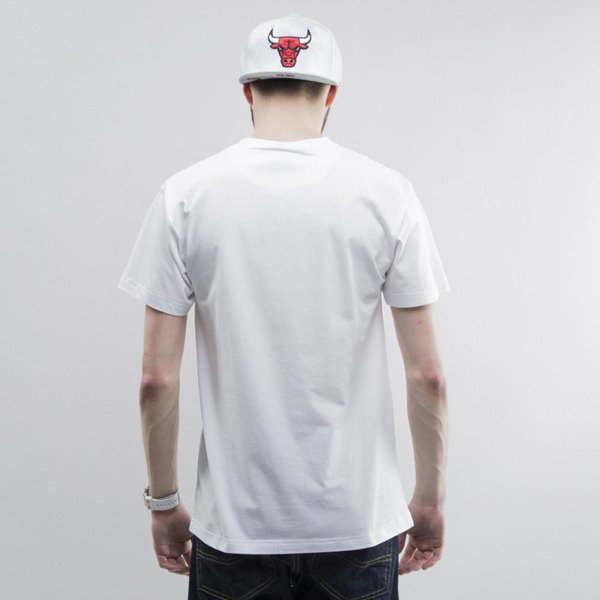 Mitchell & Ness koszulka Chicago Bulls white Team Arch