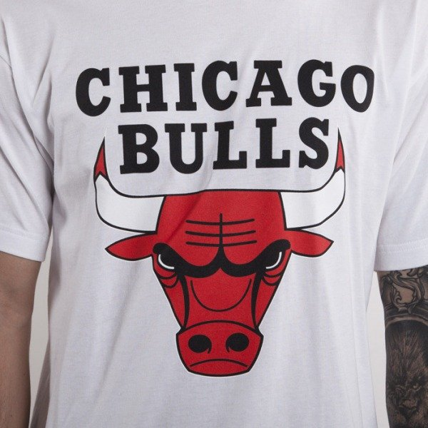Mitchell & Ness koszulka Chicago Bulls white Team Logo