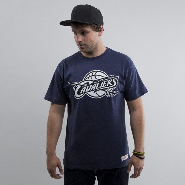 Mitchell & Ness koszulka Cleveland Cavaliers navy Black and White Logo Traditional