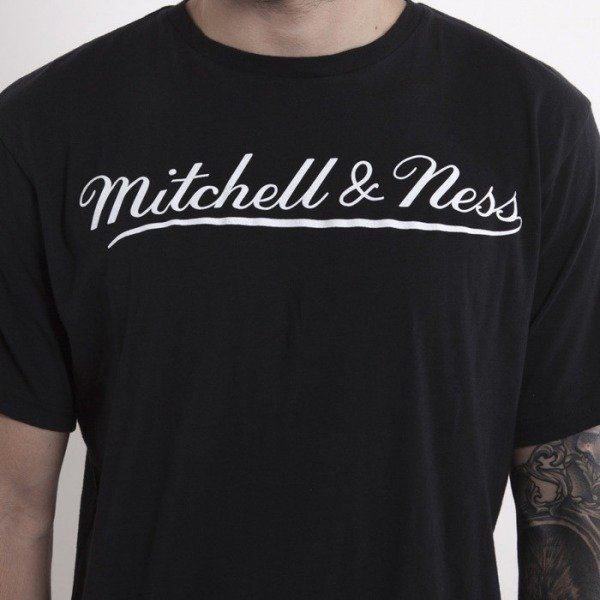 Mitchell & Ness koszulka Mitchell&Ness black  Script