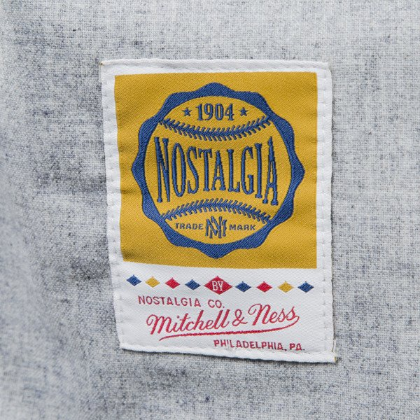 Mitchell & Ness koszulka jersey Travelling Team Wool Flannel grey  OWN BRAND (MN-BRA-7369)