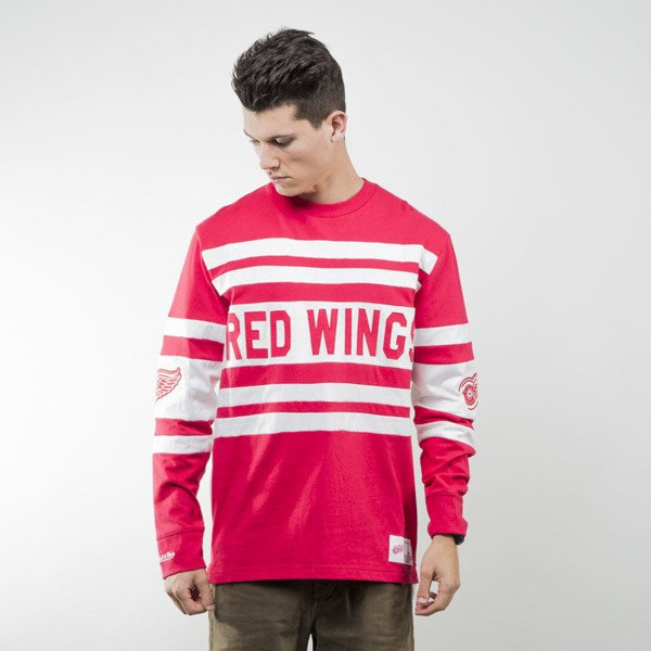 Mitchell & Ness koszulka longsleeve Detroit Red Wings red NHL OPEN NET