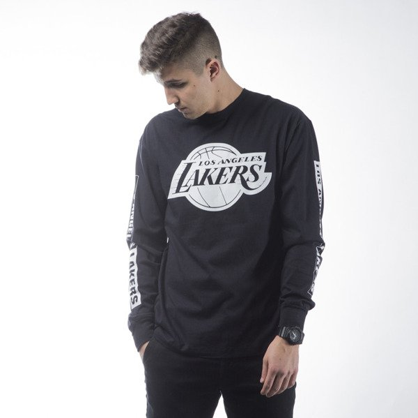 Mitchell & Ness koszulka longsleeve Los Angeles Lakers black FREE THROW