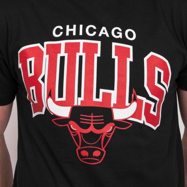 mitchell ness koszulka t shirt chicago bulls black. Black Bedroom Furniture Sets. Home Design Ideas