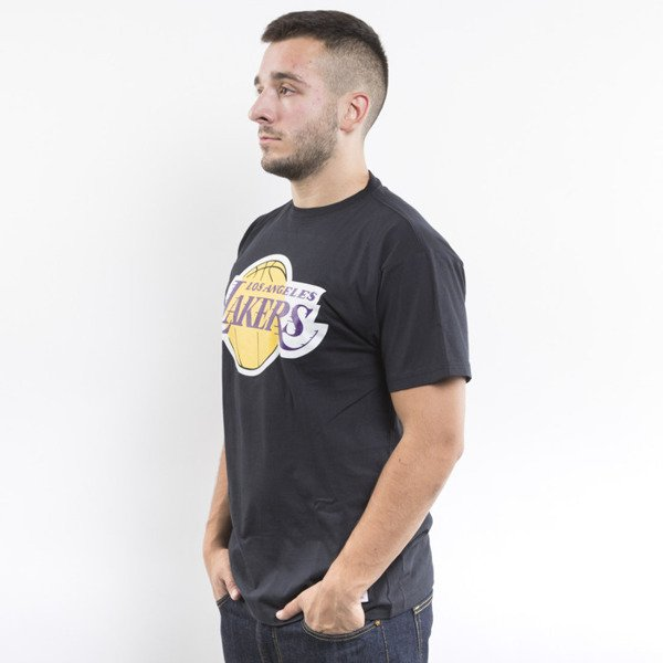 Mitchell & Ness koszulka t-shirt Los Angeles Lakers black Team Logo Traditional
