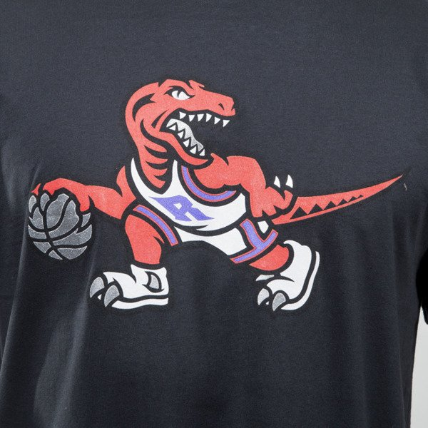 Mitchell & Ness koszulka t-shirt Toronto Raptors black TEAM LOGO TAILORED