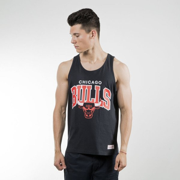 Mitchell & Ness koszulka tank top Chicago Bulls black Team Arch