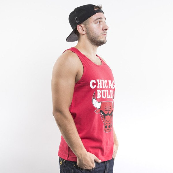 Mitchell & Ness koszulka tank top Chicago Bulls red Team Logo