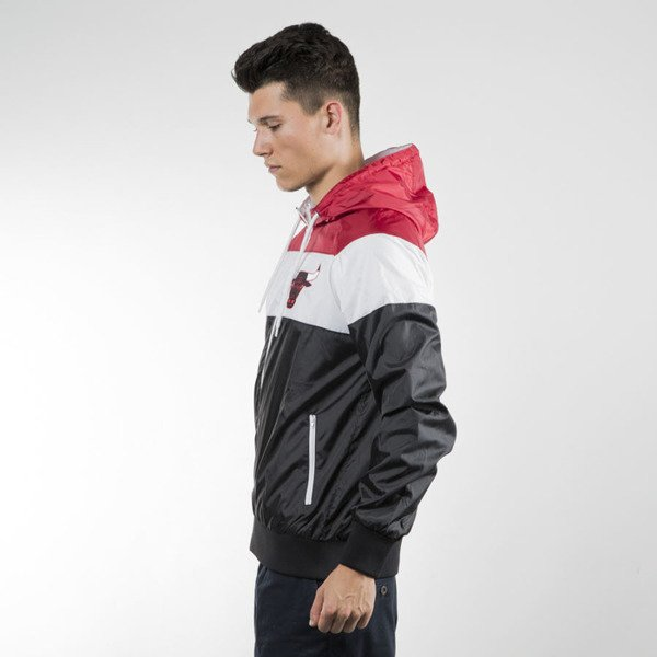Mitchell & Ness kurtka jacket Chicago Bulls red / white / black