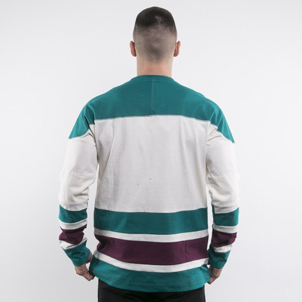 Mitchell & Ness longsleeve Anaheim Mighty Ducks off white Changing on the Fly