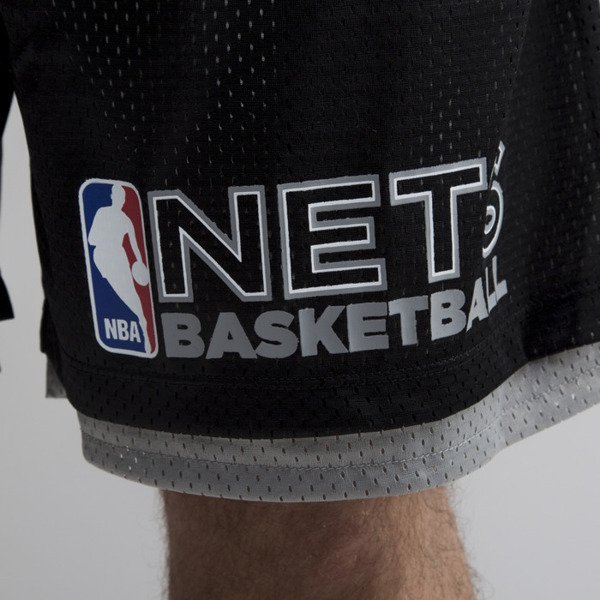 Mitchell & Ness szorty Brooklyn Nets black NBA Reversible Mesh