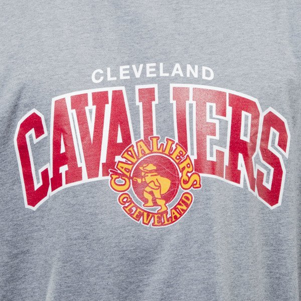Mitchell & Ness t - shirt koszulka Cleveland Cavaliers grey TEAM ARCH TRADITIONAL
