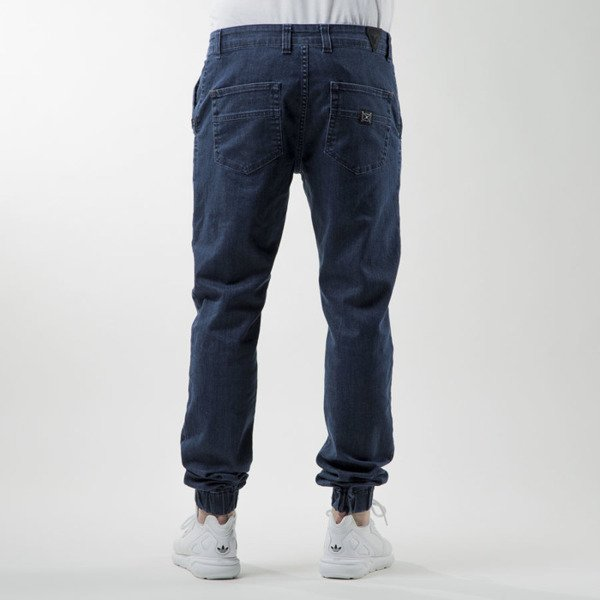 Nervous pants spodnie Jogger Denim blue