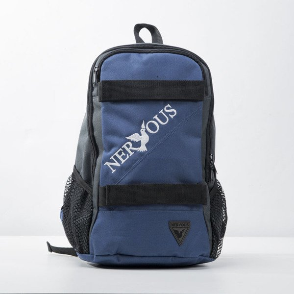 Nervous plecak backpack Classic navy / grey